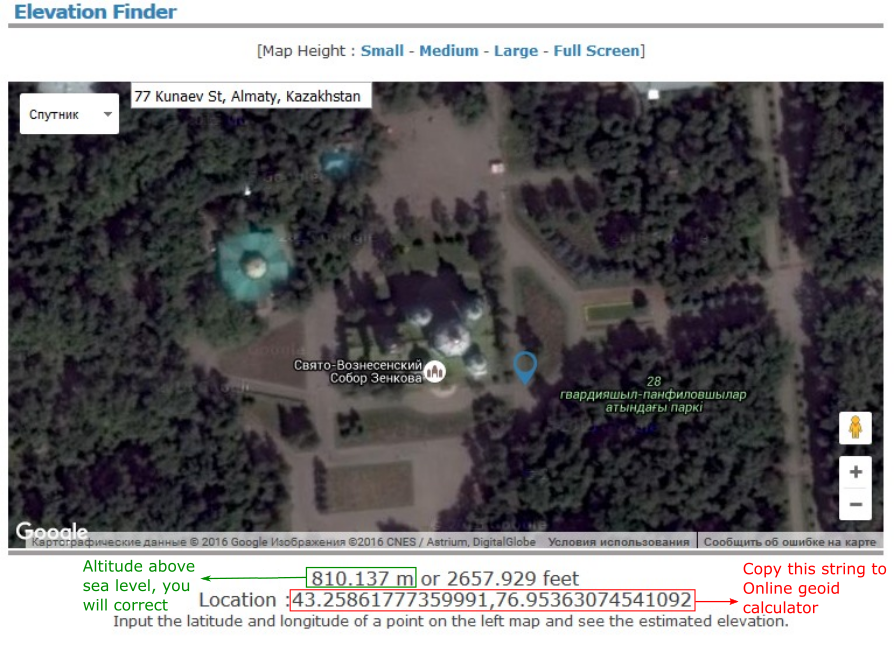 Converting video to georeferenced 3D model - step 4