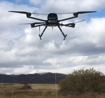 "Practical application of the ""Geoscan 401"" aerial complex in aeromagnetic survey"