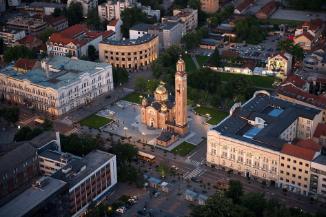 Geoscan will perform aerial survey of the Banja Luka city