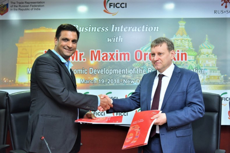 Joint business mission of Geoscan and RUSSOFT in India