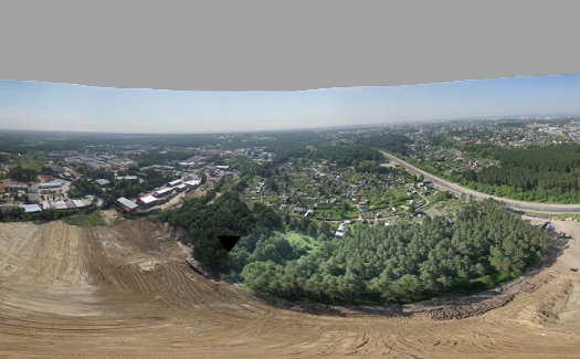 Spherical Panoramas Generation